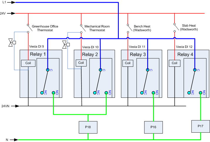 Dry Contact Relay Wiring Diagram Wiring Harness Wiring Diagram
