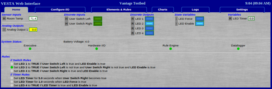 User Manual - Vesta Vantage or Pro | Vermont Energy Control Systems
